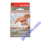 Bareback Super Sensitive 3 Lubricated Latex Condoms Contempo