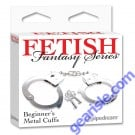 Fetish Fantasy Series Beginner's Metal Cuff's By Pipedream