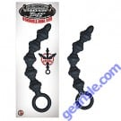 Bendable Anal Rod Black Mack Tuff