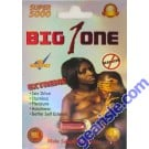 Big 1 One Super 5000 Male Sexual Enhancer Pill No Headache