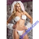 Playful Bunny Bedroom Roleplay Costume Sexy Women Lingerie BW 1275