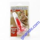 Crystal Cote Probe 3.5 /(8.9cm) Red Cal Exotics