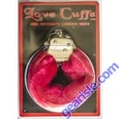 Love Cuffs For Intimate Lovers Only Red