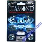 Diamond Platinum Black Extreme Male Sexual Performance Enhancement Pills 2000mg by Diamond Platinum