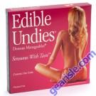 Edible Undies Dessous Mangeables Sensuous With Taste Passion Fruit