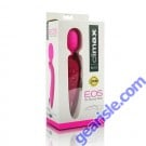 Silicone Wand 9x Rechargeable Pink Eos Climax
