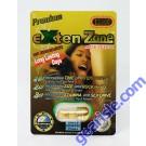 EXten Zone Premium Gold 5000 Male Sexual Enhancer Long Lasting 7 Days by N-Clon Tech