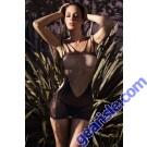 Lady's Keller Legs Fishnet Body Stocking 818JT081 Yelete Group Lingerie