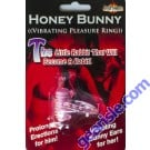 Honey Bunny Vibrating Pleasure Ring Toy