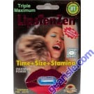 LipsTenZen 2250mg/pwr Triple Maximum Genuine Natural Enahncement for Men 1 Pill by SX Power Co