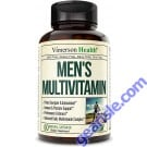 Mens Multivitamin with Zinc No Iron Vegetarian 60 Pills