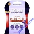 Trojan Multi Thrill 3 in 1 Vibrating Bullet Enhancer