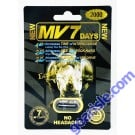 MV7 Days Rhino Male Enhancement Black Pill 2000mg Ecstatic