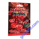 Naughty Nights Raunchy Dare Dice Game by XXXtra Naughty Nights