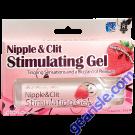 Doc Johnson Nipple & Clit Stimulating Gel Fresh Strawberry Flavor 1 Oz
