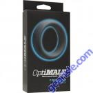 OptiMALE C- Ring 55mm Silicone Black Doc Johnson