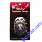 Kheper Games Official Pecker Inspector Badge