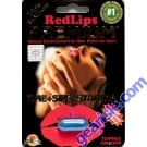 Red Lips Premium 1250mg  Triple Maximum Genuine Natural Enahncement for Men 1 Pill by SX Power Co