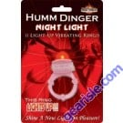 Humm Dinger Night Light Penis Vibrating Pleasure Ring