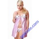 Style 5069 Charmeuse Babydoll Lilac