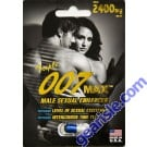 Triple 007 Max Male Sexual Enhancer Increase Level of Sexual Excitement 2400mg  by Lovezone Inc