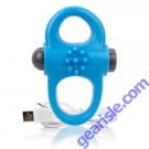 Charged Yoga Vibe Double Ring Blue ScreamingO
