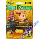 Zen Power Gold 3000 Male Sexual Libido Enhancer Pill by Zen Power