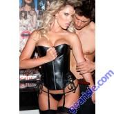 Leather Corset 11-513
