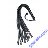 Leather Whip Triple X 12008