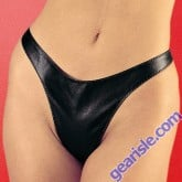 Leather Thong 3-100