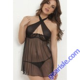 Sexy Bodydoll Lady Dress Transparent Nightgown 5144 Lingerie