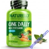NATURELO One Daily Multivitamin for Men 60 Capsules 2 Month Supply