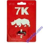 7K Premium Male Enhancement Red Pill