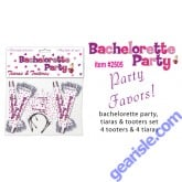 Bachelorette Party Tiaras and Tooters Supplies