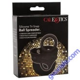 Ball Spreader Silicone Tri-Snap Scrotum Ring Cal Exotics