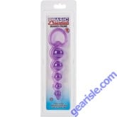 Basic Essentials Beaded Probe Purple Color Cal Exotic Novelties