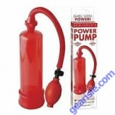 Beginner's Penis Power Pump Red Pipedream