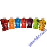 Body Heat Flavored Edible Warming Massage Oil Lotion Glide 8 oz Peach