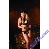 6 Piece Undercover Cop Lingerie Be Wicked BW1140