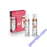 Jo XOXO's Lube Gift Set (Cotton Candy & Candied Cinnamon)