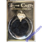 Love Cuffs Intimate Lovers Only Black