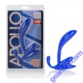 Apollo Curved Prostate Probe Blue Cal Exotic Novelties