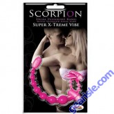 Scorpion Dual Pleasure Ring With Stinger Anal Vibe Color Purple