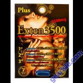 Exten Plus 3500mg Male Sexual Performance Enhancement Pill