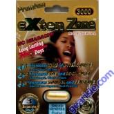 EXten Zone Premium Gold 3000 Male Sexual Enhancer Long Lasting 5 Days