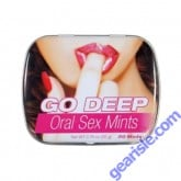 Go Deep Oral Sex Mints with Benzocaine 20 Mints