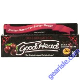 Doc Johnson Good Head Oral Delight Gel Juicty Passion Fruit 4 Oz