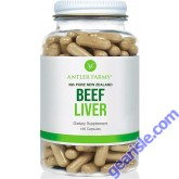Antler Farms Pure New Zealand Beef Liver 180 Capsules