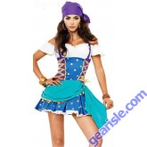 Pirate Gypsy Cosplay Costume 88520 B' Naked