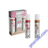 System Jo Naughty or Nice Gift Set Spice Me Up Gingerbread Sex Lubricant